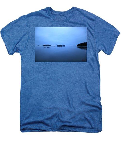 Chesterman Spatial Blues Men's Premium T-Shirt