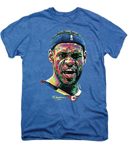 Cleveland's Pride Men's Premium T-Shirt by Maria Arango