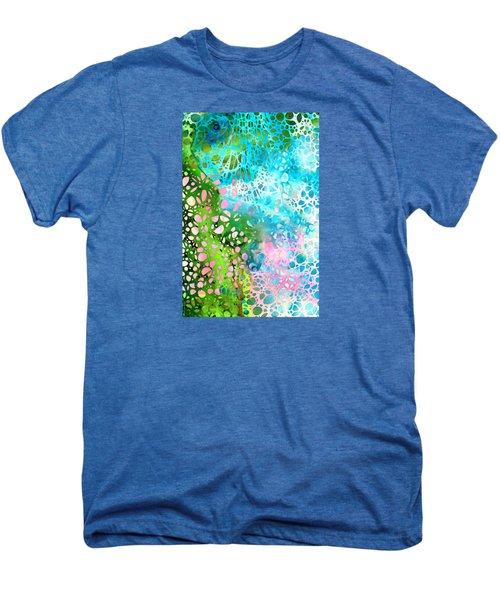 Colorful Art - Enchanting Spring - Sharon Cummings Men's Premium T-Shirt