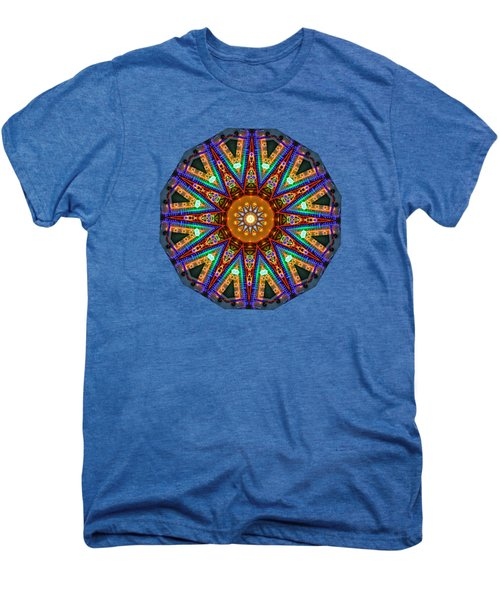 Colorful Christmas Kaleidoscope By Kaye Menner Men's Premium T-Shirt