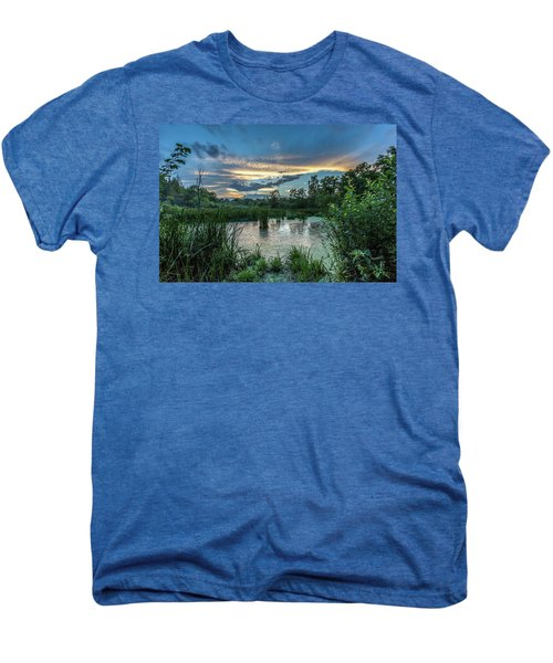 Columbia Marsh Sunset Men's Premium T-Shirt