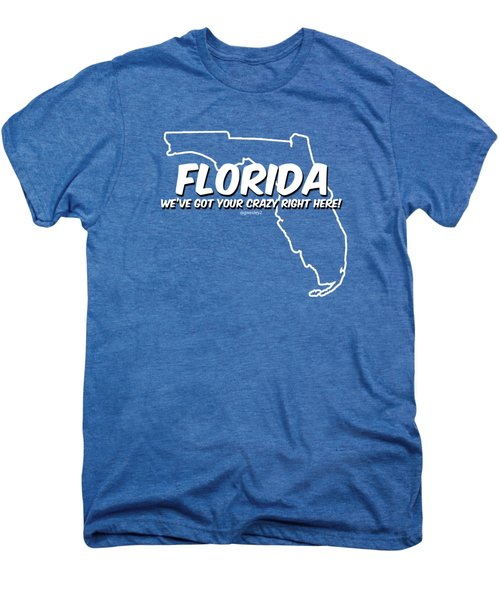 Crazy Florida Men's Premium T-Shirt