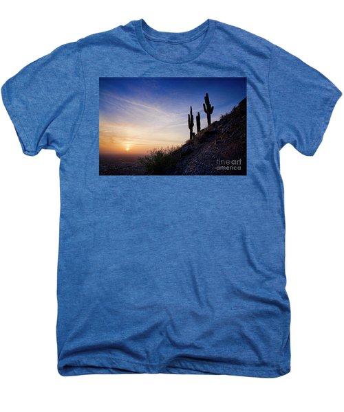 Days End In The Desert Men's Premium T-Shirt