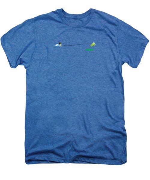 Del Jetski Men's Premium T-Shirt by Pbs Kids