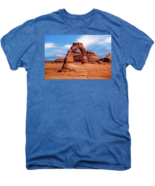 Delicate Arch From Lower Viewpoint Men's Premium T-Shirt