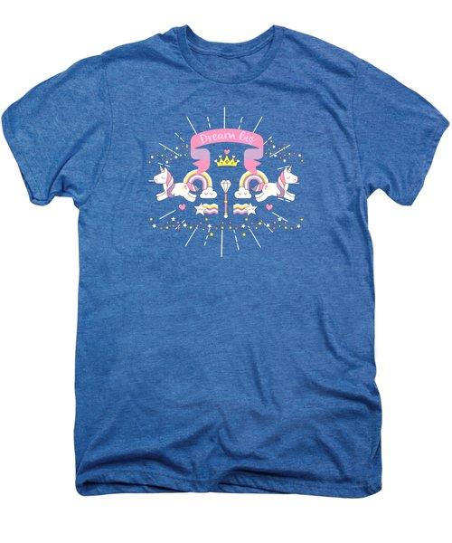 Dream Big Little Unicorn Men's Premium T-Shirt