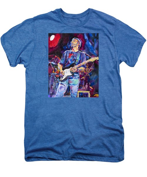 Eric Clapton And Blackie Men's Premium T-Shirt by David Lloyd Glover