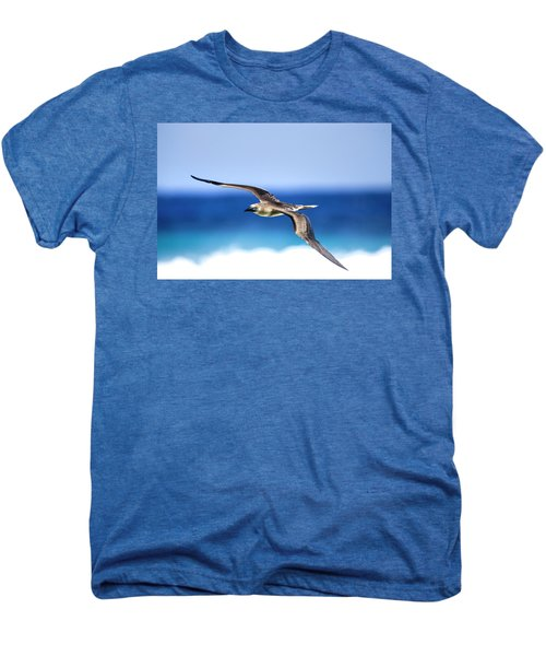 Eye Contact Men's Premium T-Shirt by Sean Davey