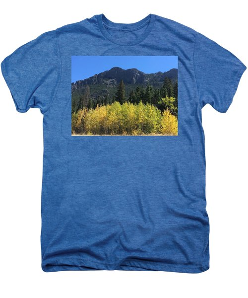 Fall At Twin Sisters Men's Premium T-Shirt
