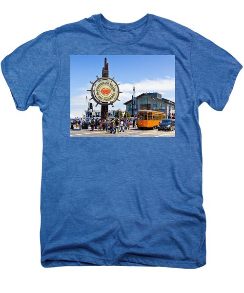 Fishermans Wharf - San Francisco Men's Premium T-Shirt