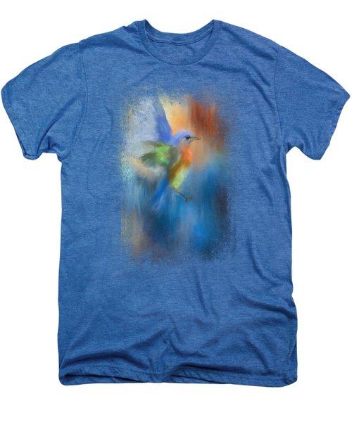 Flight Of Fancy Men's Premium T-Shirt by Jai Johnson