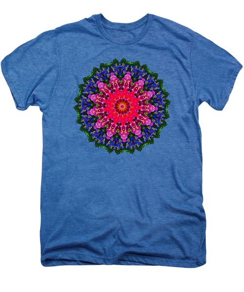 Floral Kaleidoscope By Kaye Menner Men's Premium T-Shirt by Kaye Menner