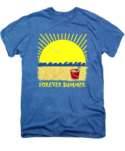 Forever Summer 8 Men's Premium T-Shirt by Linda Lees