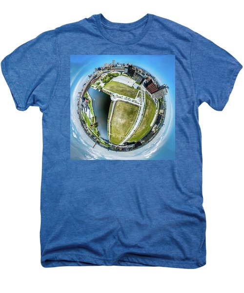 Freshwater Way Little Planet Men's Premium T-Shirt