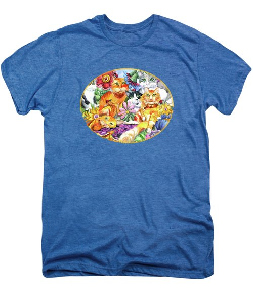 Garden Party Men's Premium T-Shirt by Shelley Wallace Ylst