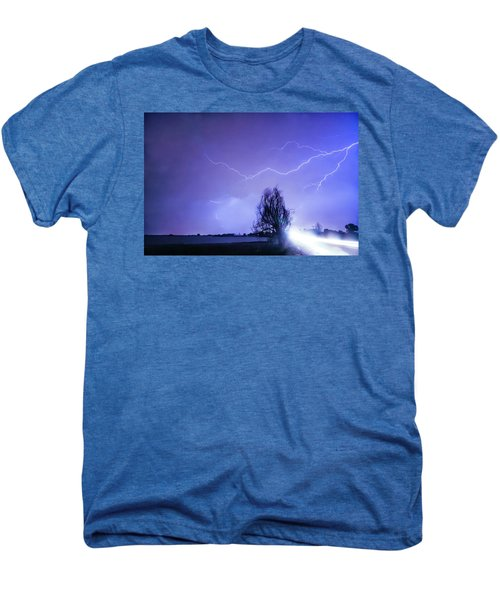 Men's Premium T-Shirt featuring the photograph Ghost Rider by James BO Insogna