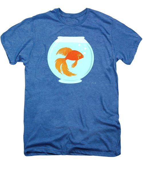 Goldfish Fishbowl Men's Premium T-Shirt by Little Bunny Sunshine