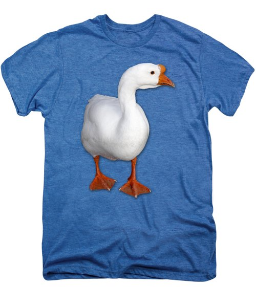 Goose Me Men's Premium T-Shirt by Bob Slitzan