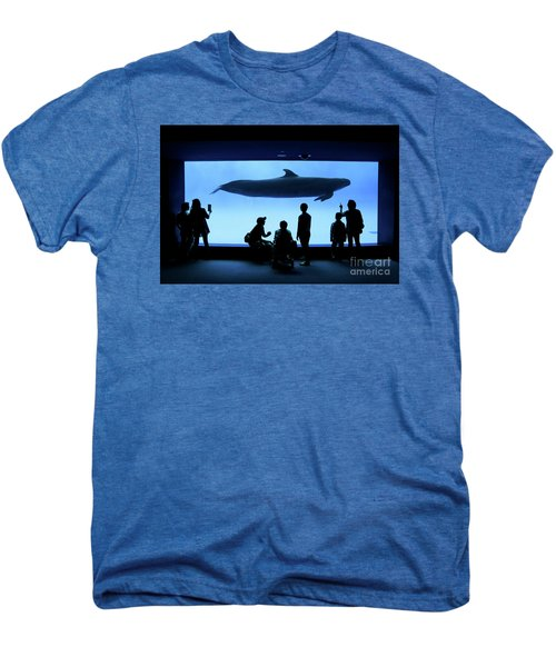Grand Whale Men's Premium T-Shirt by Tatsuya Atarashi