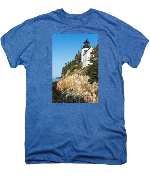 Men's Premium T-Shirt featuring the photograph Head Lighthouse by Anthony Baatz