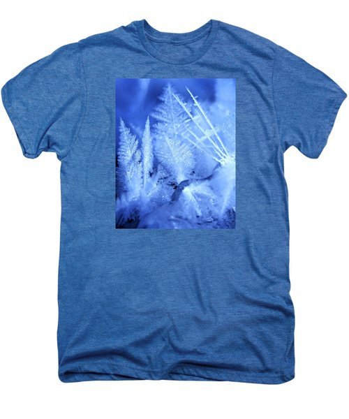 Ice Crystals Men's Premium T-Shirt