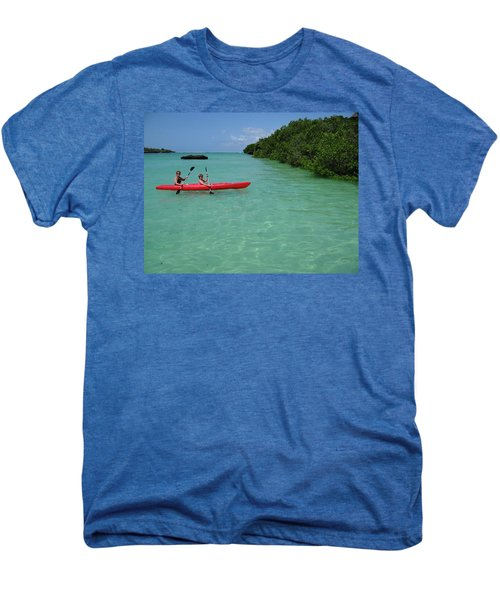 Kayaking Perfection 2 Men's Premium T-Shirt