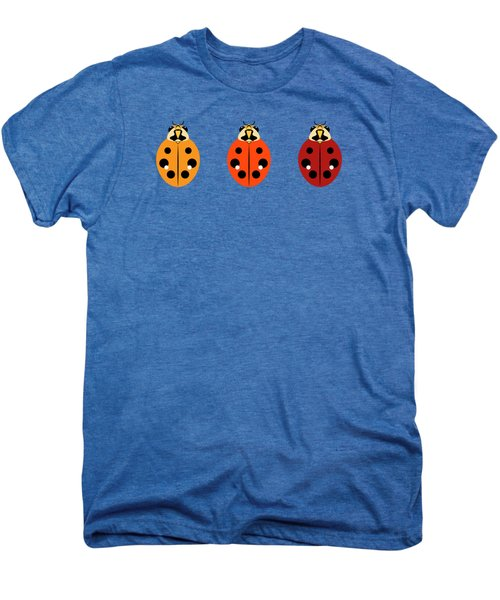 Ladybug Trio Horizontal Men's Premium T-Shirt