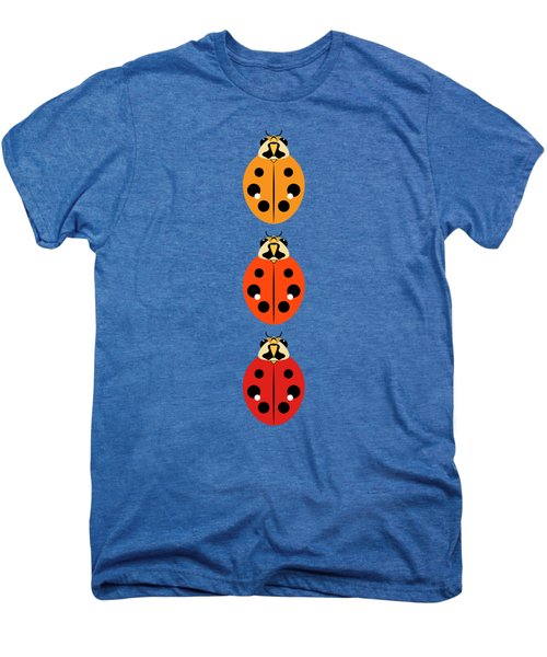 Ladybug Trio Vertical Men's Premium T-Shirt