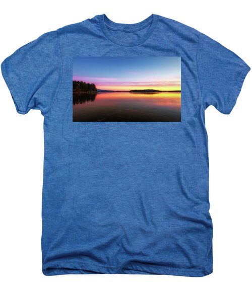 Lake Winnipesaukee Reflections Men's Premium T-Shirt