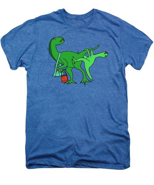 Mamasaurus Men's Premium T-Shirt by Tamera Dion
