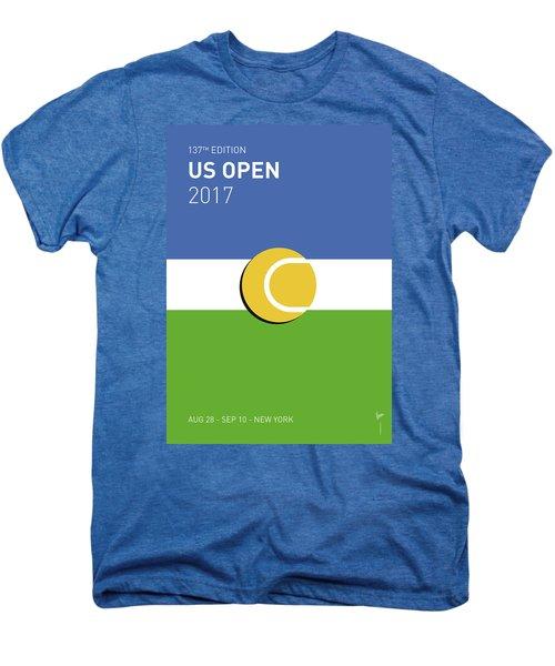 My Grand Slam 04 Us Open 2017 Minimal Poster Men's Premium T-Shirt