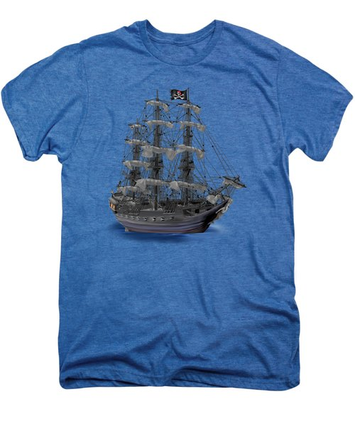 Mystical Moonlit Pirate Ship Men's Premium T-Shirt