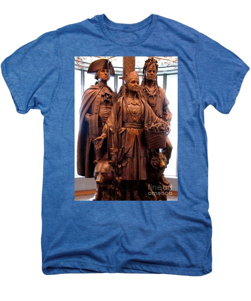 National Museum Of The American Indian 8 Men's Premium T-Shirt by Randall Weidner