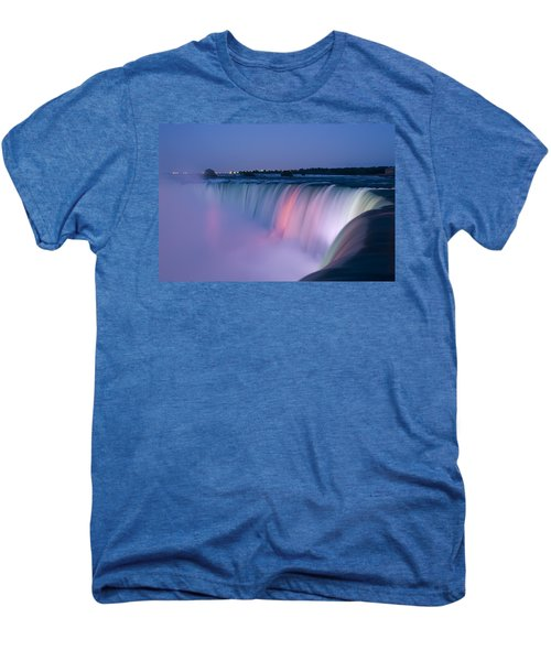 Niagara Falls At Dusk Men's Premium T-Shirt