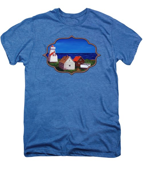 North Rustico - Prince Edwards Island Men's Premium T-Shirt