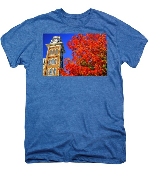 Old Main Maple Men's Premium T-Shirt by Damon Shaw