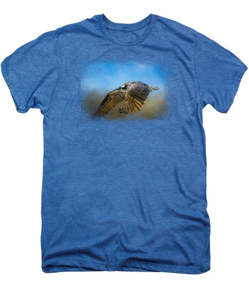 Osprey Over Pickwick Men's Premium T-Shirt by Jai Johnson