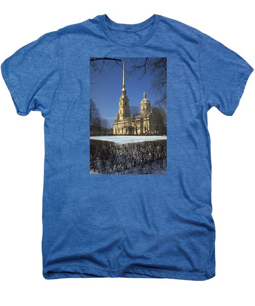 Peter And Paul Cathedral Men's Premium T-Shirt by Travel Pics