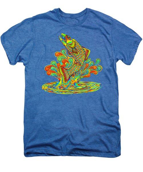 Rainbow Trout Men's Premium T-Shirt
