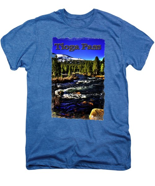 Rapids Along The Tioga Pass Road Men's Premium T-Shirt