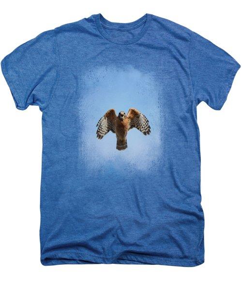 Raptor's Warning Men's Premium T-Shirt by Jai Johnson