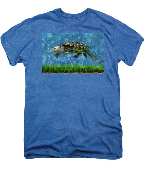 Rodney The Diamondback Terrapin Turtle Men's Premium T-Shirt
