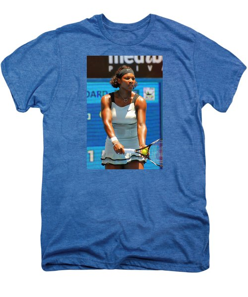 Serena Williams Men's Premium T-Shirt by Andrei SKY