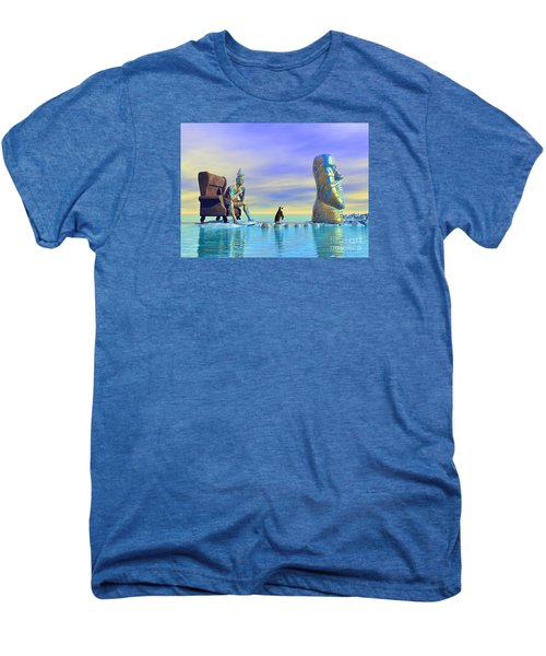 Silent Mind - Surrealism Men's Premium T-Shirt