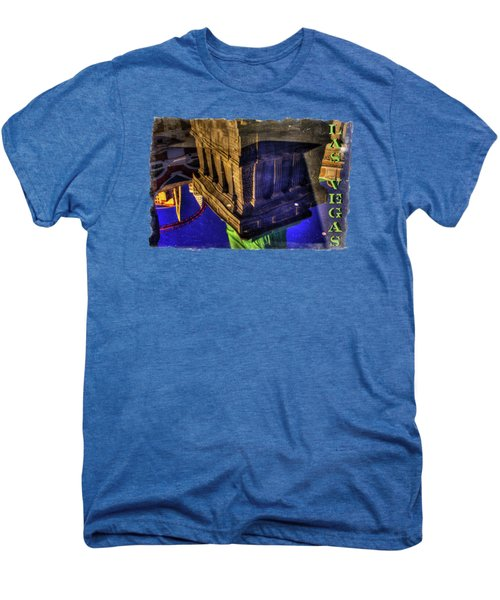 Statue Of Liberty Las Vegas Reflections Men's Premium T-Shirt by Roger Passman