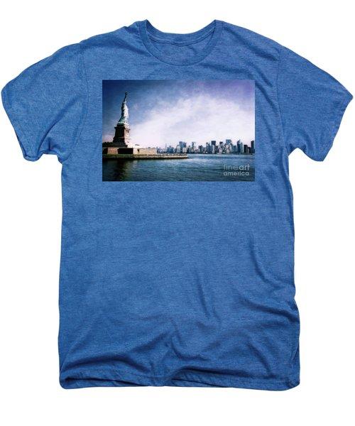 Statue Of Liberty Men's Premium T-Shirt
