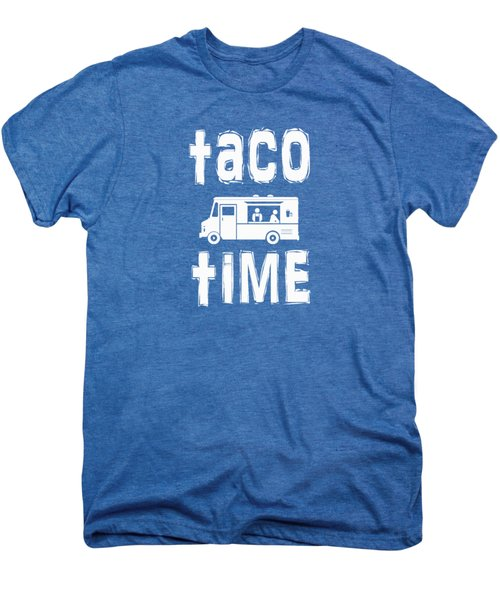 Taco Time Food Truck Tee Men's Premium T-Shirt by Edward Fielding