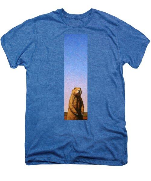 Tall Prairie Dog Men's Premium T-Shirt by James W Johnson