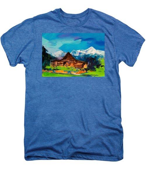 Teton Barn  Men's Premium T-Shirt