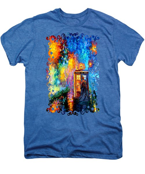 The Doctor Lost In Strange Town Men's Premium T-Shirt